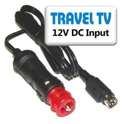 Napáj. kabel 12V DC-Autozásuvka (TV Finlux)