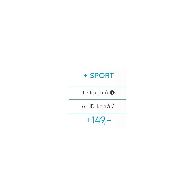 Doplňkový Balíček DIGI TV SPORT SAT